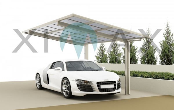 Ximax Design Carport Linea Typ 80, Aluminium, 4954x2431 mm