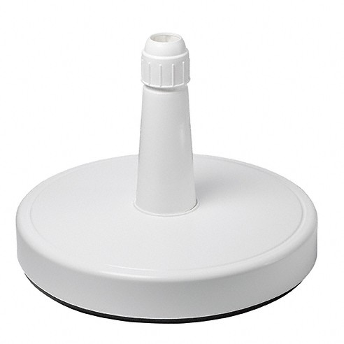 Doppler Schirmständer/Füllsockel für Großschirme, bis 67 mm ø, weiß