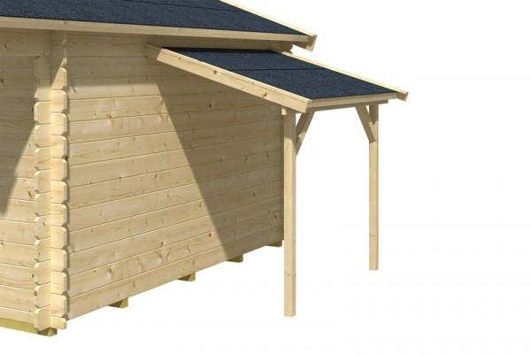 Skan Holz Schleppdach, 184 x 125 cm für Gartenhaus