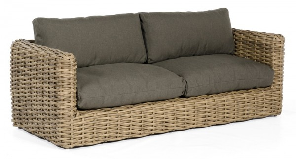 Sonnenpartner Lounge-Sofa Sands, Kunststoffgeflecht, Light Oaks