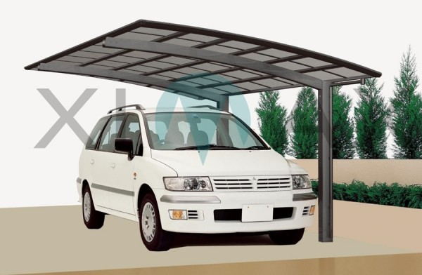 Ximax Design Carport Portoforte Typ 110, Aluminium, 4954x3012 mm