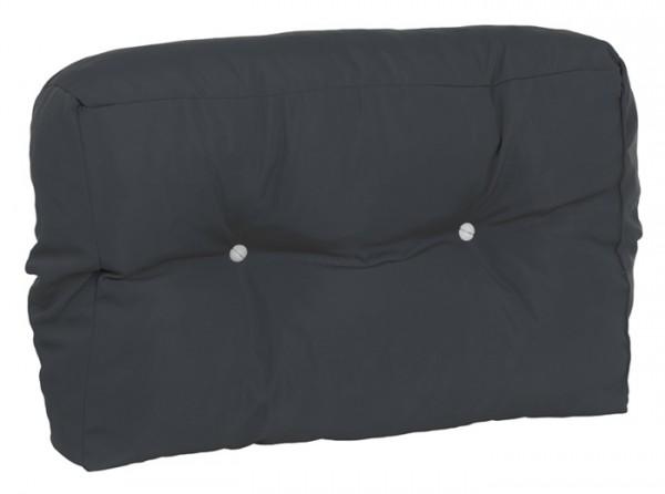 Doppler Paletten-Rückenkissen, schmal, für Ecklösungen, anthrazit