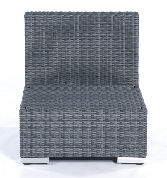 Sonnenpartner Lounge-Mittelmodul Residence, Kunststoffgeflecht, graphit-schwarz