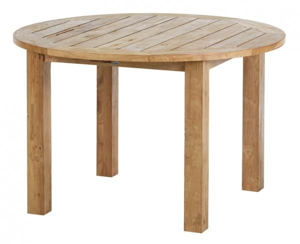 Diamond Garden Tisch Belmont rund, Recycled Teak Natur, Ø 120 cm