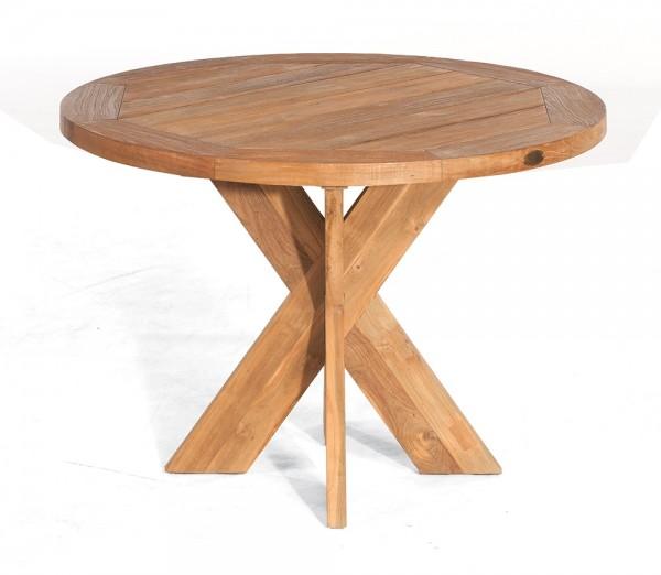 Sonnenpartner Tisch Quantum Old Teak, Ø 120 cm