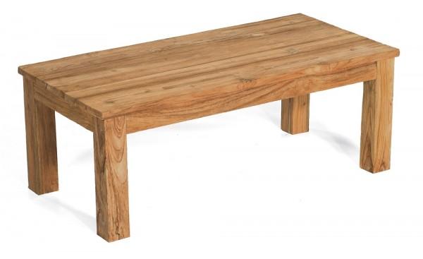 Sonnenpartner Lounge-Tisch Charleston, Old Teak, 120 x 60 cm