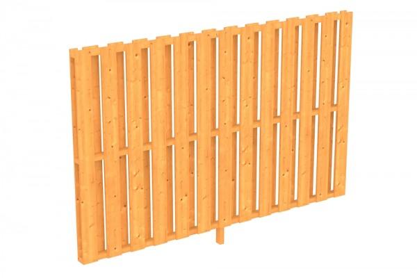 Skan Holz Seitenwand 255 x 160 cm, Deckelschalung, für Douglasien-Terrassenüberdachungen